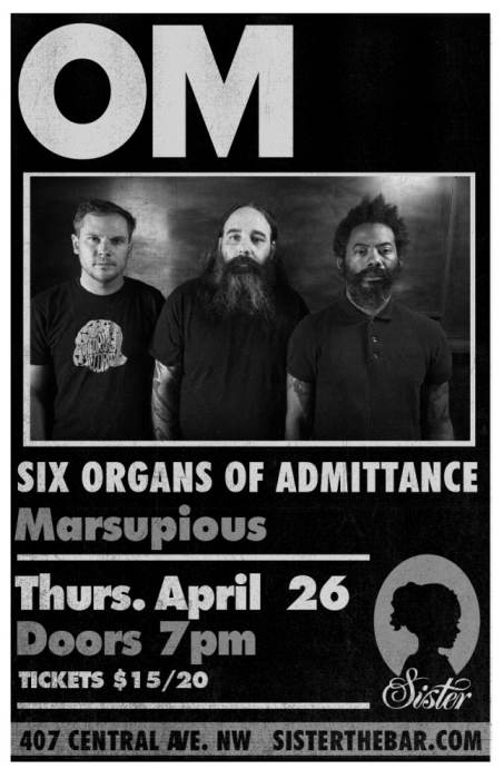 OM with Six Organs of Admittance and Marsupious