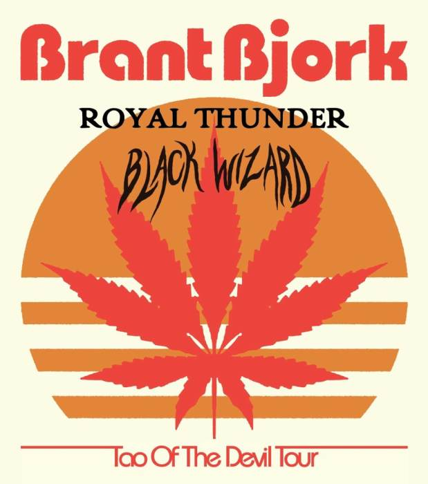 BRANT BJORK | Royal Thunder | Black Wizard | Poison Rites