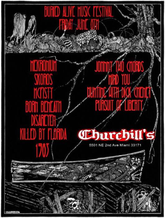 Buried Alive - Metal/Punk/Noise fest - Click for full lineup