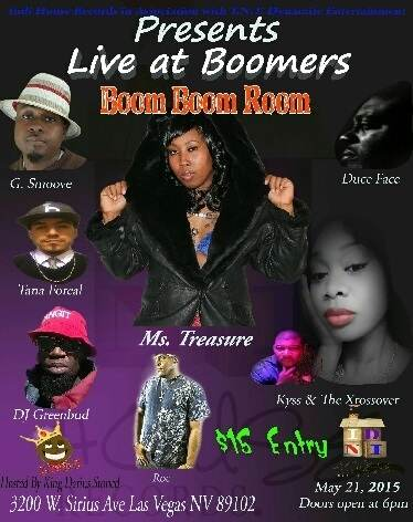 Live in the Boom Boom Room