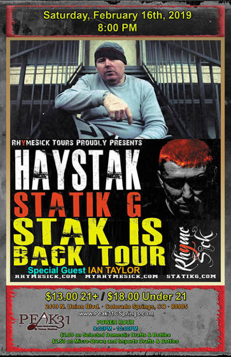 HAYSTACK / STATIK G