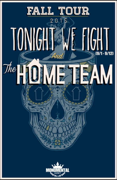 THE HOME TEAM, TONIGHT WE FIGHT,