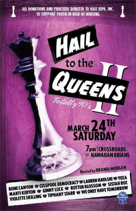 """Hail to the Queens II"""