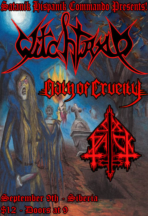 WITCHTRAP (Columbia) | OATH OF CRUELTY (Houston) | Six Pack