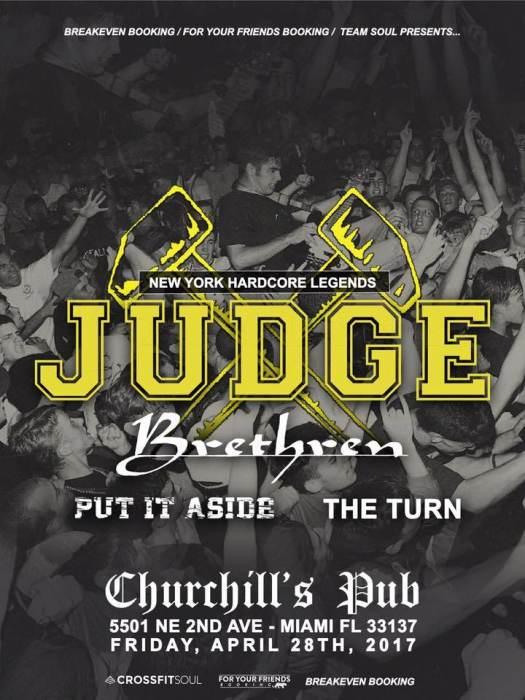 JUDGE, Brethren, Put It Aside, The Turn