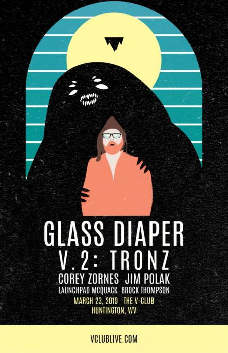 Glass Diaper / V.2:TRONZ / Brock Thompson / Launchpad McQuack / Jim Polak / Corey Zornes