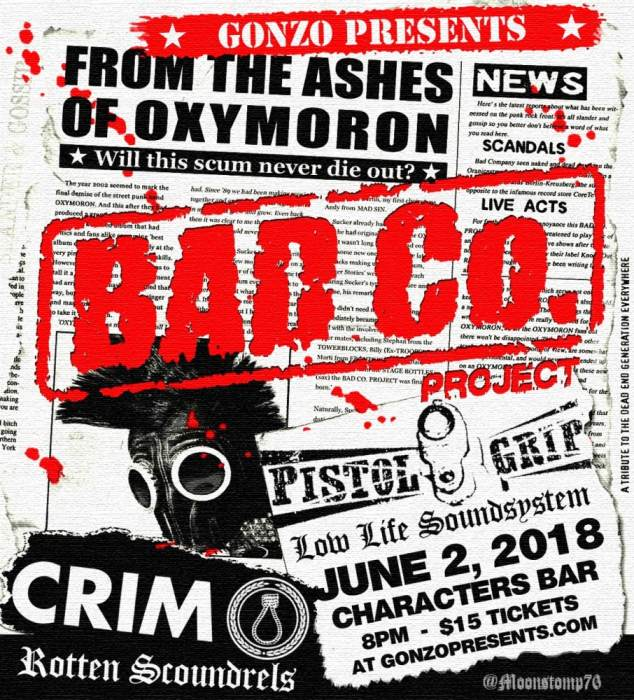 From the ashes of Oxymoron Bad Co Project