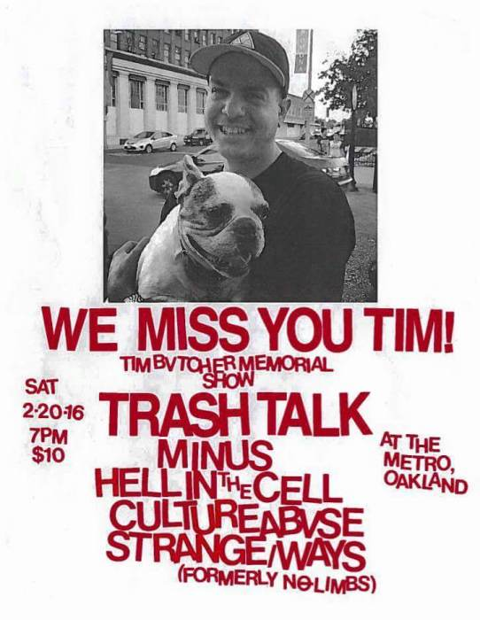 TRASH TALK, MINUS, HELL IN THE CELL, CULTURE ABUSE, STRANGEWAYS