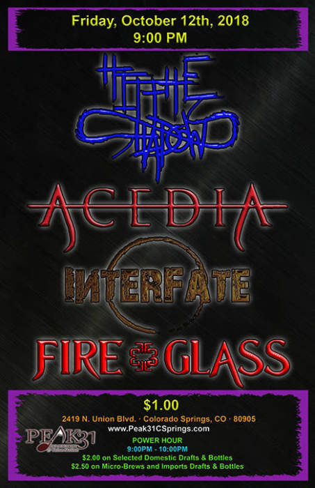 Hit The Shadows/Acedia/Interfate