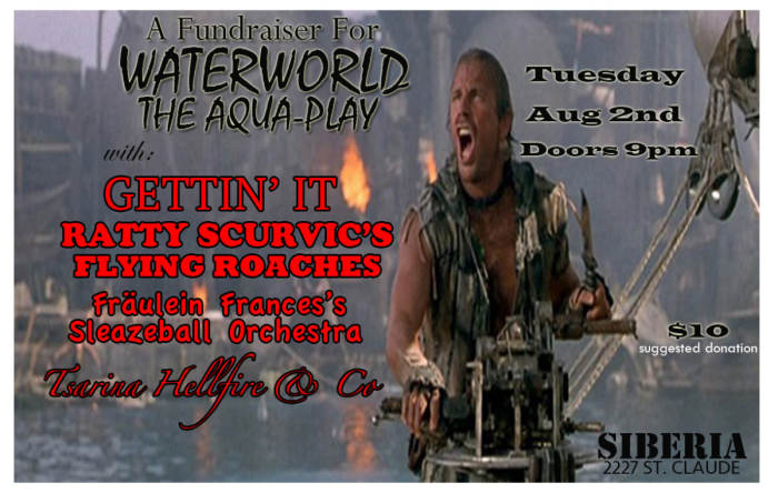 WATERWORLD (The Play) Fundraiser