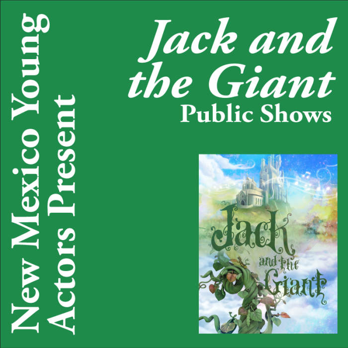 Jack and the Giant - Public Performance