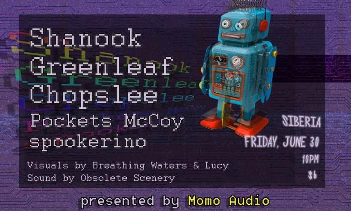 Shanook | Greenleaf | Chopslee | Pockets McCoy | Spookerino | Lucy