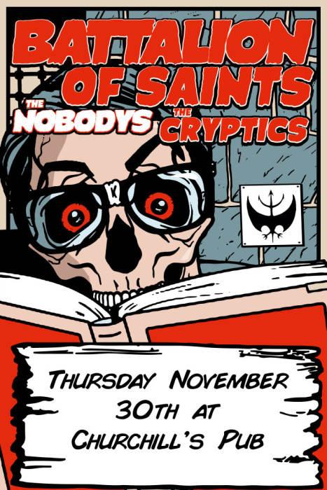 Battalion of Saints, The Nobodys, The Cryptics