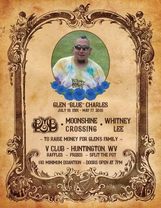 "Benefit for Glen ""Blue"" Charles"