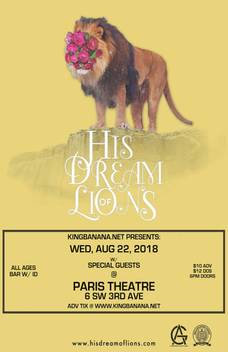 HIS DREAM OF LIONS
