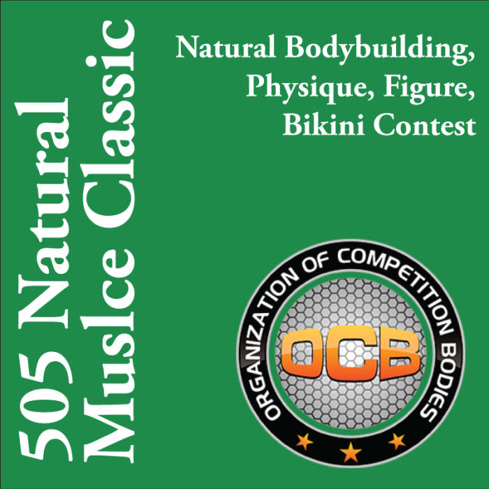 505 Natural Muscle Classic: