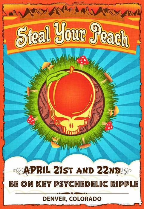 Steal Your Peach:  Allman Brothers Grateful Dead Mashup