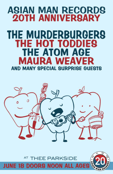 Matinee Show w/ The Murderburgers, The Hot Toddies, The Atom Age, Maura Weaver (Mixtapes) plus many special guests
