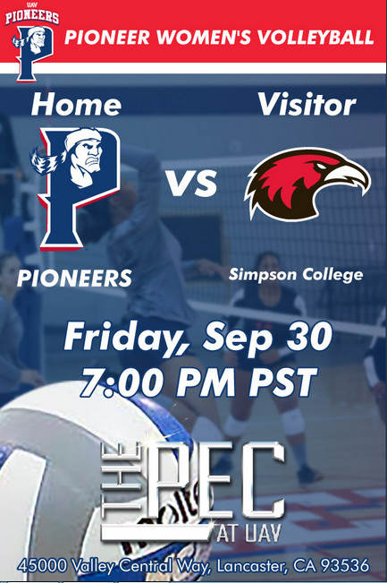 UNIVERSITY OF ANTELOPE VALLEY vs SIMPSON