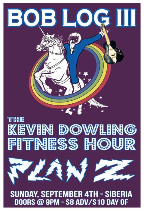 BOB LOG III | Kevin Dowling Fitness Hour | Plan Z