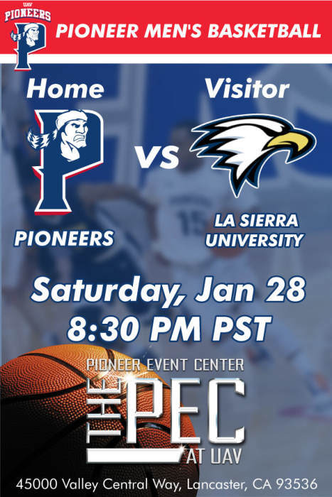 UNIVERSITY OF ANTELOPE VALLEY vs LA SIERRA UNIVERSITY