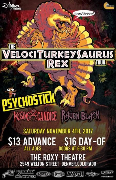 Velociturkeysaurus Rex Tour