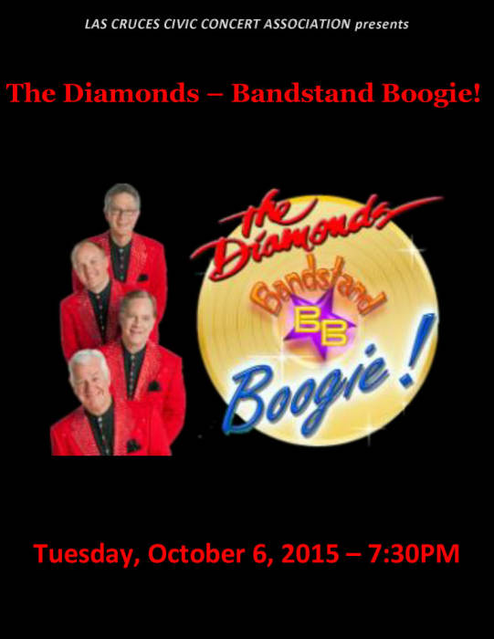 The Diamonds – Bandstand Boogie!