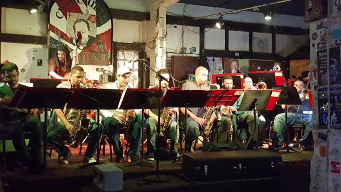Miami Jazz Jam 19 Year Anniversary featuring the BCC 17 Piece Jazz Band! Open mic on the patio with Theatre de Underground!