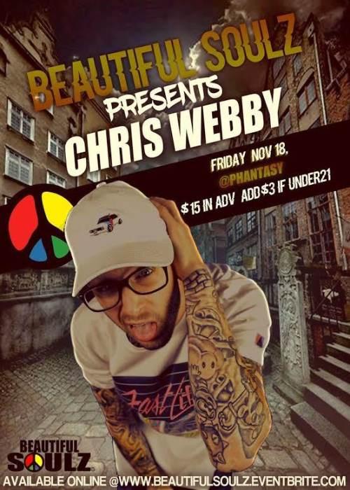 Beautiful Soulz presents CHRIS WEBBY