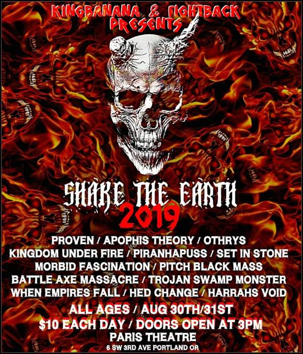 PROVEN, KINGDOM UNDER FIRE,