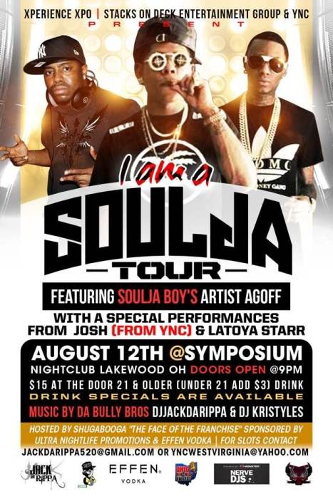 I am a Soulja Tour- Featuring Soulja Boy