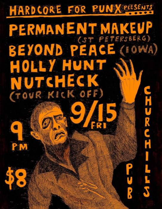 Permanent Makeup, Beyond Peace, Holly Hunt, Nutcheck