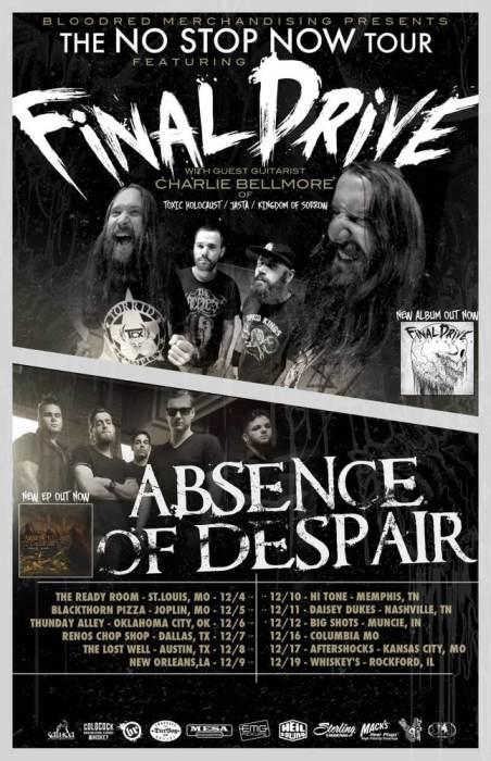 Final Drive w/ Absence Of Despair & La Pistola