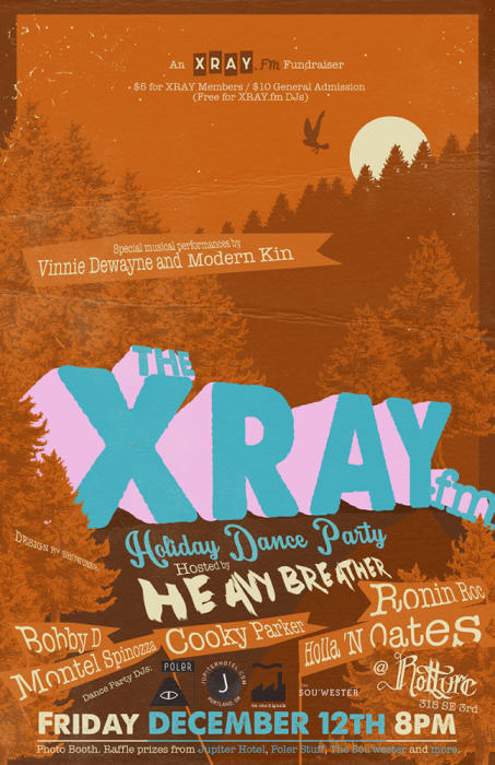 XRAY.FM HOLIDAY DANCE PARTY