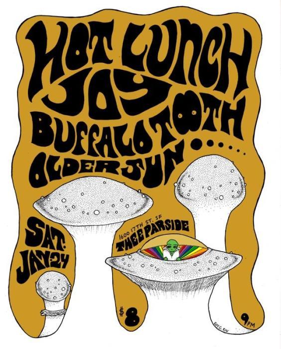 Hot Lunch, JOY, Buffalo Tooth, Older Sun