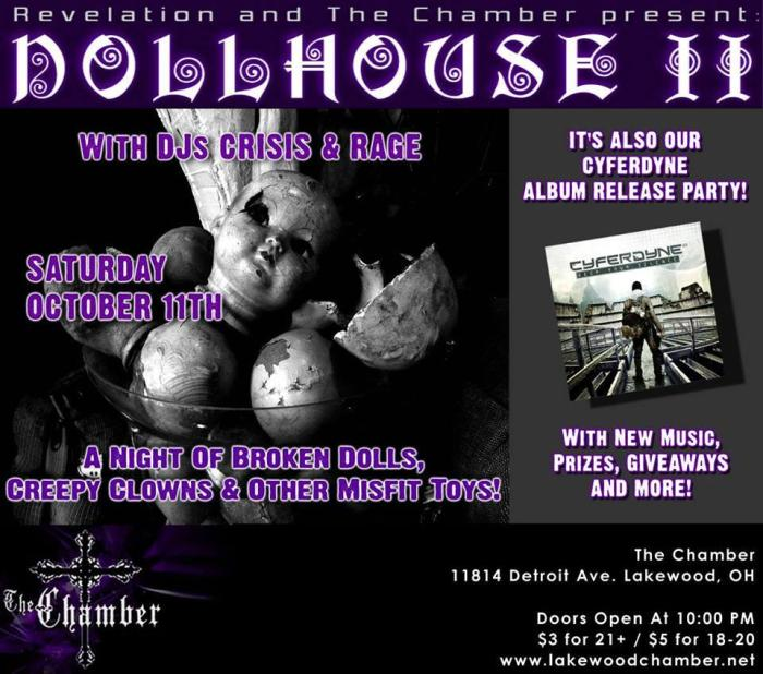 REVELATION AND CHAMBER PRESENT DOLLHOUSE II