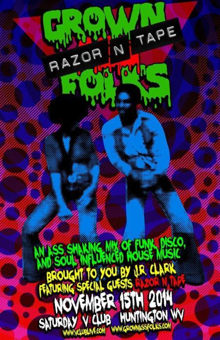 Grown Ass Folks Presents: Razor N Tape