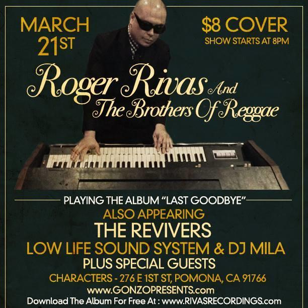 Roger Rivas of The Aggrolites and The Brothers of Reggae