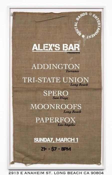 ADDINGTON, SPERO, TRI- STATE UNION, MOONROOFS, PAPERFOX