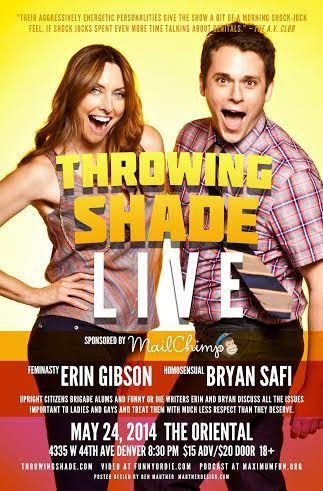 Throwing Shade LIVE (Podcast)