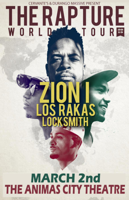 Zion I w/ Los Rakas and Locksmith