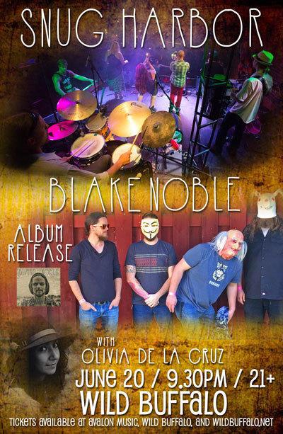 Snug Harbor, Blake Noble (Album Release), Olivia De La Cruz