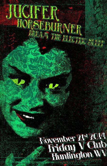 Jucifer / Horseburner / Dream The Electric Sleep