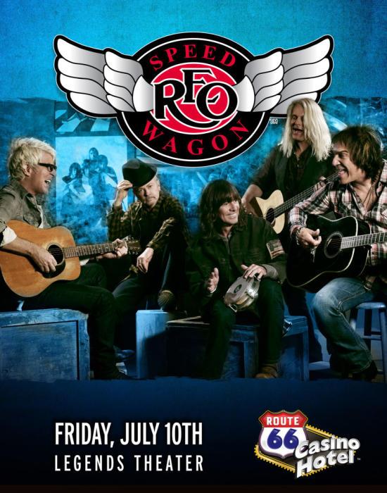 REO Speedwagon @ Legends Theater - Route 66 Casino