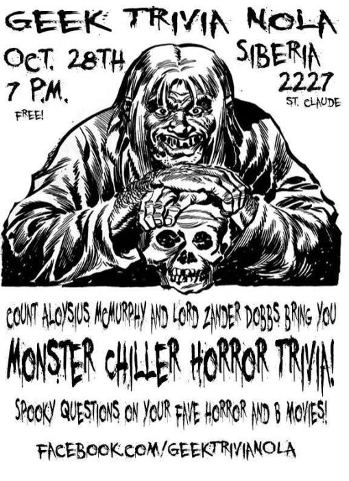 GEEK TRIVIA: Monster Killer Theater!!