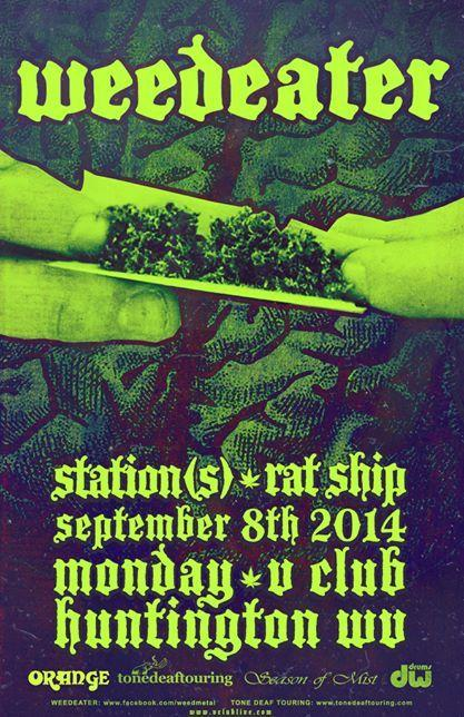 Weedeater / Station(s) / Rat Ship