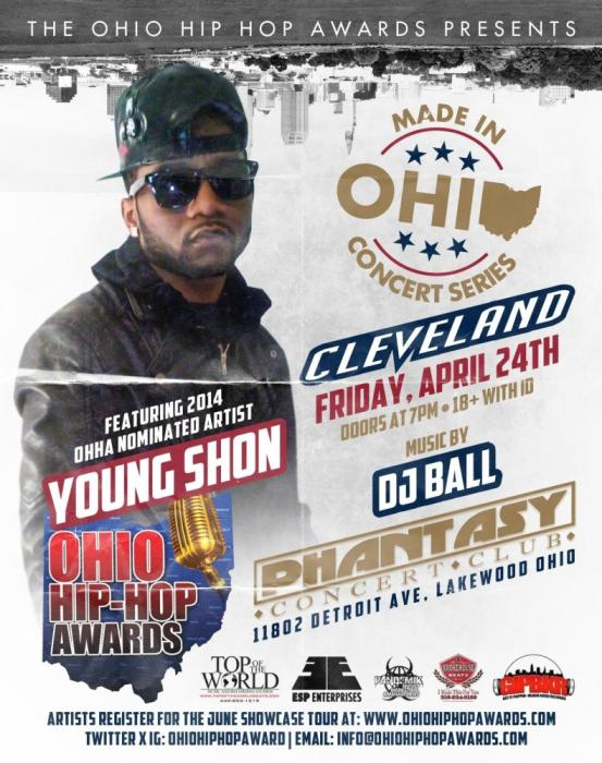 The Ohio Hip Hop Awards Presents: The Made In Ohio Series April 24, 2015