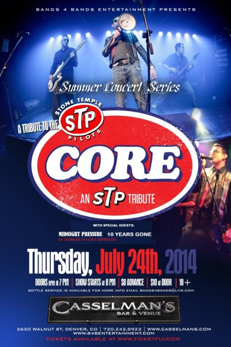 Core-Stone Temple Pilots tribute band