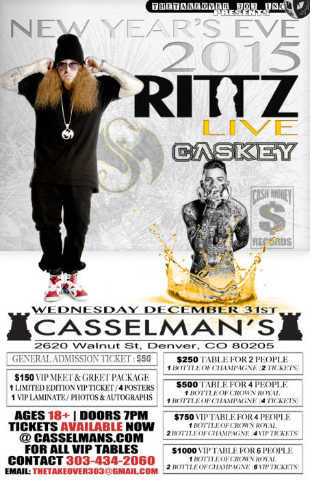 New Years Eve with RITTZ