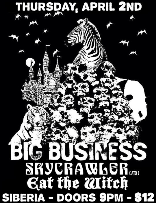 BIG BUSINESS | Skycrawler | Eat The Witch